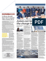 Asian Carriers Lead the Charge in Paris - Gulf Times 18 June 2015
