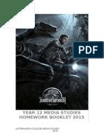 2015 AS Media Studies Summer Work Booklet