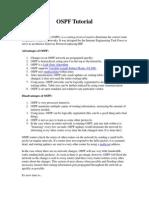 OSPF Tutorial
