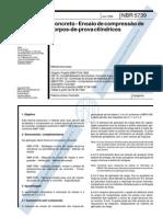 NBR 5739 - Ensaio de Compressão de Corpos de Prova Cilíndricos