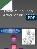 Dolor de Origen Muscular y Articular