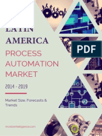 Latin America Process Automation Market - Forecasts And Trends (2014 - 2019)