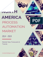 North America Process Automation Market By Type, Application, Industries And Countries Market Size, Forecasts And Trends (2014 - 2019)