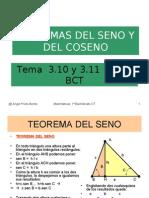 Teoremas Del Seno y Del Coseno