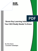 Seven Key Indicators Your CEO Needs to Know