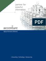 Accenture Belux Corporate Brochure
