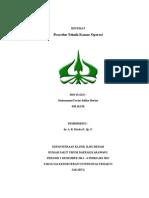 Prosedur Teknik Kamar Operasi