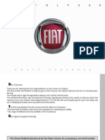 Fiat Ulysse 2007 Owners Manual