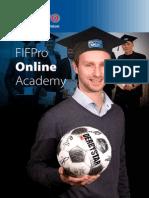2015 FIFPro Online Academy Brochure Digital