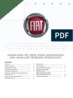Fiat New Panda 2007 Misc Documents-Bluetooth