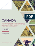 Canada Crop Protection Chemicals (Pesticides) Market - Growth, Trends and Forecasts (2014 - 2019)