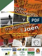 Cartel Concurso Fotografia y Matemáticas 2015