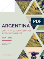 Argentina Crop Protection Chemicals (Pesticides) Market - Growth, Trends and Forecasts (2014 - 2019)