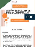 Evasión Tributaria de Personas Naturales_taller_13!06!15
