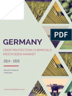 German Crop Protection Chemicals (Pesticides) Market - Growth, Trends and Forecasts (2014 - 2019)