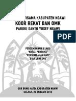 Cover Natal Bersama Kabupaten Ngawi