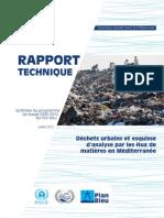 Déchets urbains et esquisse d'analyse par les flux de matières en Méditerranée