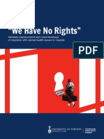 IHRP We Have No Rights Report
