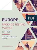 Europe Package Testing Market –By Primary Packaging Material Packaging Services Countries and Vendors.pdf