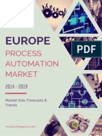 Europe Process Automation Market By Type, Application, Industries And Countries Market Size, Forecasts And Trends (2014 - 2019)