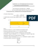 Teoria Da Elasticidade - Exercícios Problemas 2D Em Coordenadas Retangulares