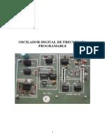 Oscilador Digital de Frecuencia Programable