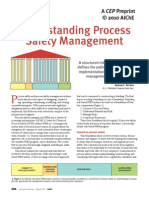 Understanding Process Safety Management