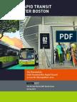 The BRT Report