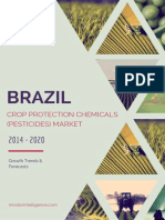 Brazil Crop Protection Chemicals (Pesticides) Market - Growth, Trends and Forecasts (2014 - 2019)