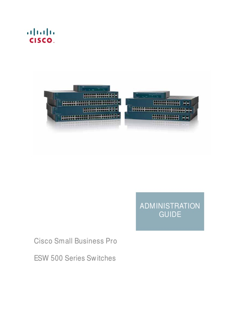 Cisco Esw 500 Series Admin Guide Ip Address Network Switch Eih Current Relay