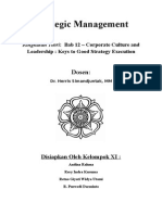 SM Kelompok 11 - Chapter 12 Corporate Culture and Leadership Summary