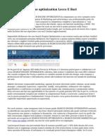 Corso Search engine optimization Lecce E Bari