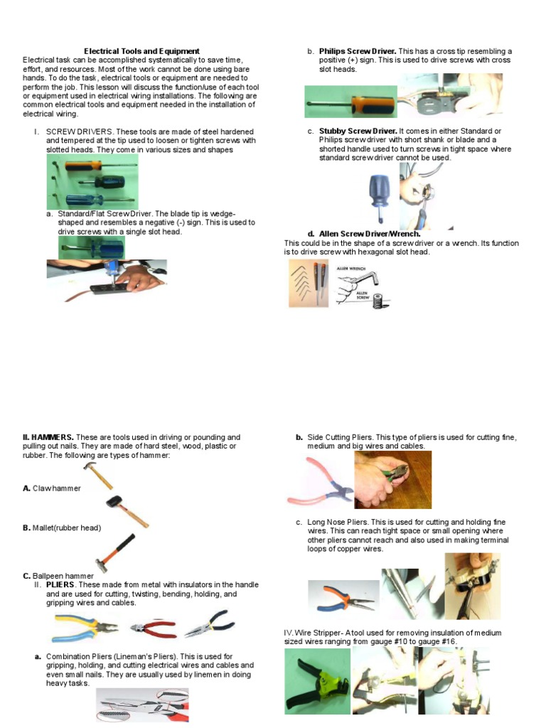 What Is Common In Electrical Wiring For Dummies 1509984135 Equipment