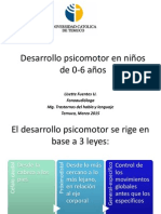 2.2. Desarrollo Motor en Niños de 0-6 Años