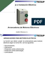 Clase 8 Arrancadores Motores Electricos