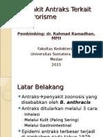 Penyakit Antraks Terkait Bioterorisme