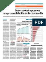 Desaceleración Económica Pone en Riesgo Consolidación de La Clase Media