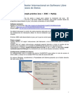 Ejemplo Java JDBC MySQL