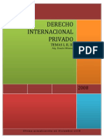 Derecho Internacional Privado