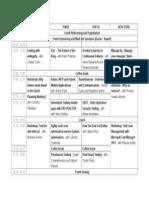 Agenda Testcamp