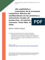 Calderon (2010)- Desarrollo Capitalista y Transformaciones de La Economia Campesina