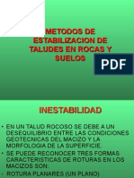 METODOS DE ESTABILIZACION DE TALUDES EN SUELOS Y ROCAS (1).ppt