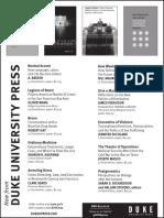 Duke University Press program for the American Sociological Association conference 2015
