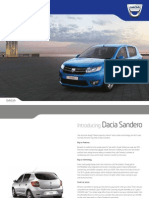 Dacia Sandero Brochure
