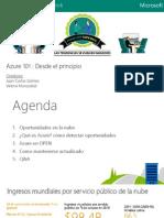 Azure 101 - Juan Carlos Gomez