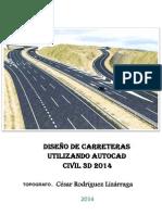 Manual de Autocad Civil 3d 2014 Para Carreteras Cesar