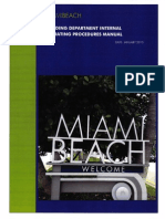Miami Beach Building Department Internal SOP Manual