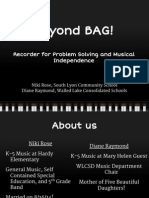 beyond bag ppt