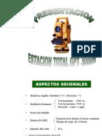 Estacion Total GPT 3000W