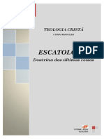 Apostila Escatologia Everson